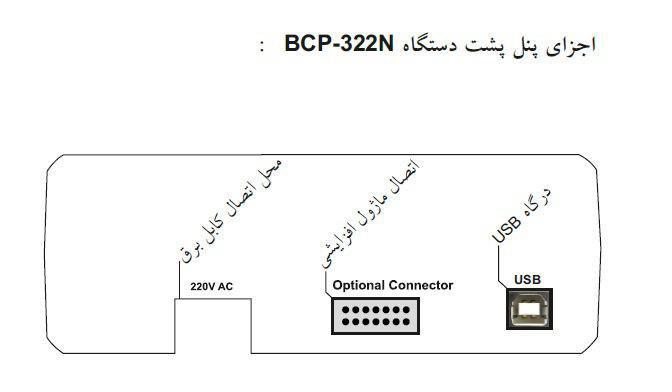 سانترال و تلفن گویا BCP-322N (همراه با مموری )